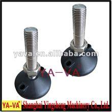 DG100 adjustment feet nylon with rubber pad machine parts