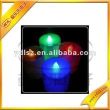 Blue Flashing Led Candle For Decoration