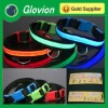 custom safety led belt for dog pet safety led strap for pets dog collar spikes and harness