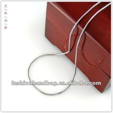2012 stainless steel round snake chain