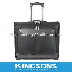 2012 black laptop trolley bag