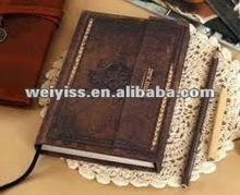 2012 hight qualilty pvc diary, fashion notebook