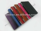 Mix Color Order Litchi Vein Photo Frame PU Leather Case Smart Cover Stand for ipad 3