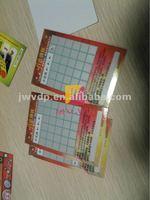 Latex scratch card printing/scratch off latex