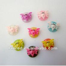 Animal Resin Flower for Jewelry Accessory handmade Craft