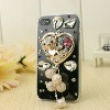 Cute Biling Bear Rhinestone Phone Case Design Your Own Rhinestone Cell Phone Cases Rhinestone Cell Phone Cover zd1416