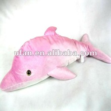 Cute Pink mini soft toy pillow dolphin