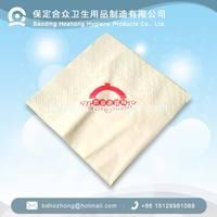 100% virgin wood pulp embossed paper napkin, printed paper tissue