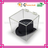 5 sided clear acrylic container with lid