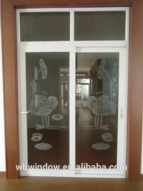 Indian main door design of upvc sliding glass kitchen door for Sliding door for main door