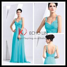 Sleeveless crystal diamond embellished halter prom dress chiffon princess style evening dress