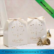Luxury sweet chocolate packaging box