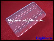 laser grooving quartz window