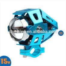U5 Transformers LED Laser Gun Daylight Motorcycle LED Headlight Moto Bike Headlamp Spot Strobe Light for HONDA SUZUKI YAMAHA
