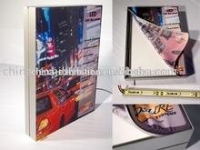 Hot sale advertising edge lit light box printing