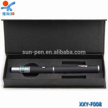 Gracefull black led promotional metal ball pen