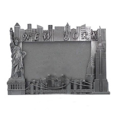 Zinc alloy crafts New York photo frame the statue of liberty frame the Empire State Building frame