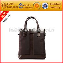 Dark Brown Perfect Design Genuine Leather Mens Shoulder Briefcase Bags