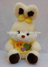 Plush keyring rabbit, Stuffed toy rabbit wholesale soft toy white bunny plush rabbit
