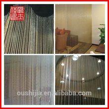 2014 hot sell metal ball chain curtain/metal chain curtain/metal curtain for decoration