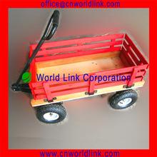 High Quality Children Wooden Utility Beach Trolley