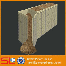 Hebei BV Certificated maufactory military sand wall Hesco Bastion Concertainer