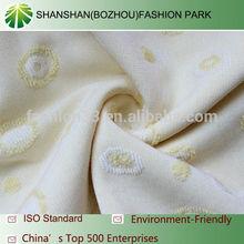 100%cotton jacquard knit single jersey fabric