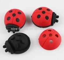 3D eraser ladybird shape animal eraser rubber puzzle magic detachable eraser