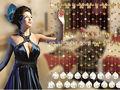 cristal mariposa de cristal cordón de cortina para la decoración de la boda colgando de la puerta para el hogar o la decoración de la tienda