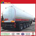 Alta qualidade 50m3 de armazenamento do óleo/diesel tanque de combustível semi reboque caminhão reboque de trator com preço baixo