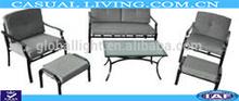 Steel 4pcs cushion conversation set