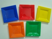10inch nice square charger plates / wholesale square restaurant plate ps