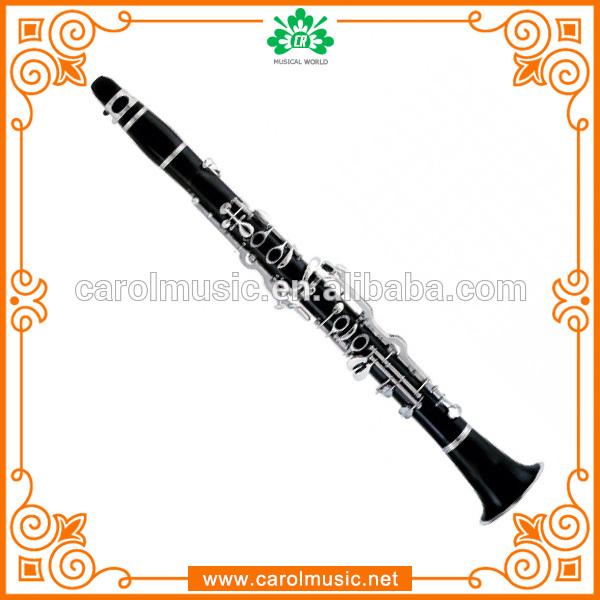 Cl305 niquelado chaves Bakelite g clarinete