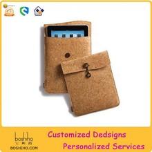 Cork fabric case for ipad air/ ipad mini