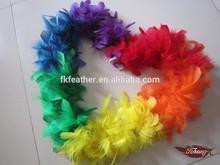 20G Rainbow Feather Boa, Child's Feather Boa, Mini Feather Boa