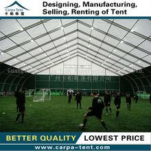 Fantastic high-snow load indoor mini football tents, football hall tents exported to Russia