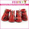durable 3 color fashion dog shoes winter dog shoes