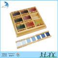 En71 eco- ambiente no- tóxico en edad preescolar de la caja de color sensoriales montessori material didáctico en china