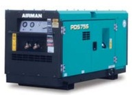 airman PDS diesel portable screw air compressor