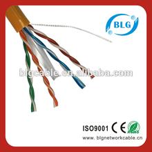 305M 1000FT 22/23/24AWG 2 pair/4 pair cat6 utp lan cable CAT 6 UTP Lan