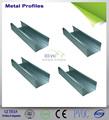 亜鉛金属のスチールスタッドとランナー