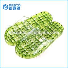 PVC round bead massage bathroom slippers