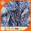 hayvan leopar baskılıipek şifon kumaş elbise