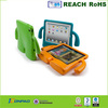 Kid shock proof case for ipad,rubber case for apple ipad