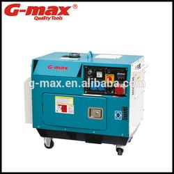 Electric Starter 6.0kva Air-cooled Diesel Generator