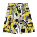 2014 de alta calidad nuevo de la moda para hombre pantalones bermudas de surf traje de baño de los hombres