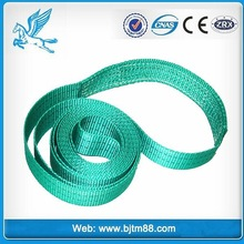 CE Approve polyester flat woven webbing sling