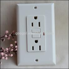 UL certificate 220V GFCI duplex receptacle