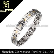 Major 316L stainless anti-static magnetic bracelet