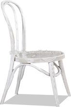 designer solid wood dining room white thonet chairs MWA13--F10